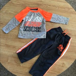 Toddler Athletic Outfit 2T